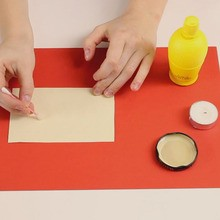 Invisible ink video