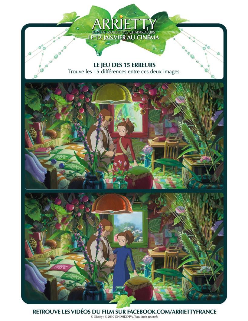 The Secret World Of Arrietty Online Games Hellokids Com