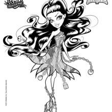 Spectra Vondergeist 2 coloring page