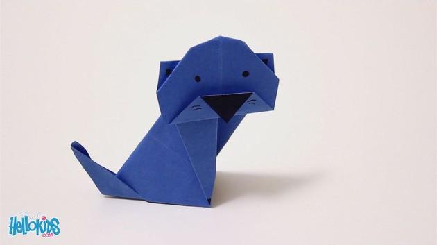 Doblado de papel : La chat origami