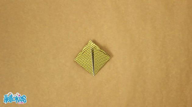 Origami Chinese lantern craft for kids