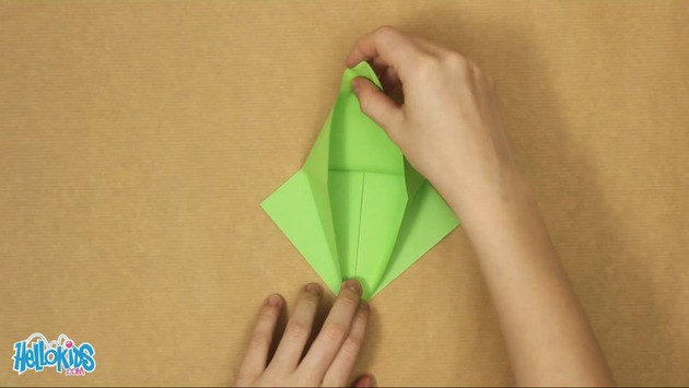 Origami Dragon craft project