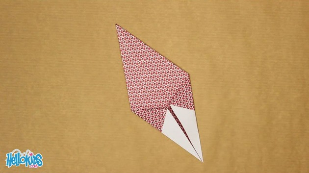 Origami Hen craft for kids