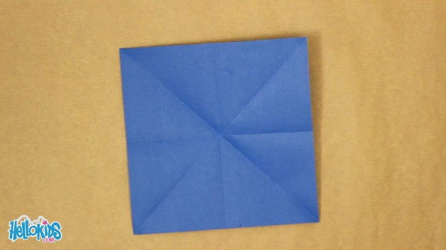 Origami Windmill craft for kids