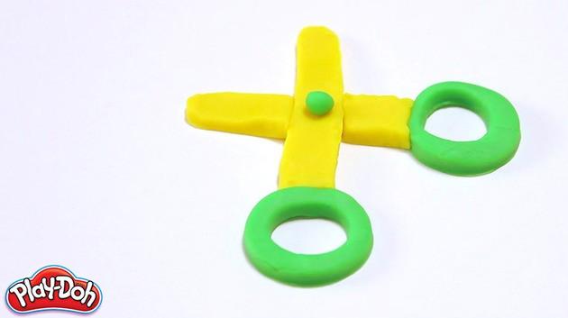 The return plasticine craft for kids