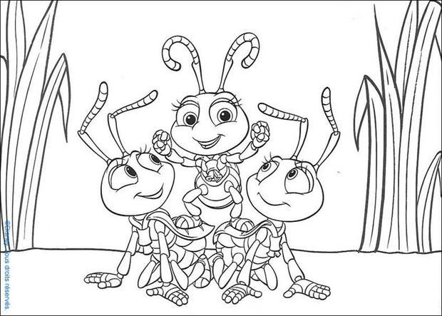 A bug's life 26 coloring page