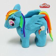Rainbow Dash plasticine