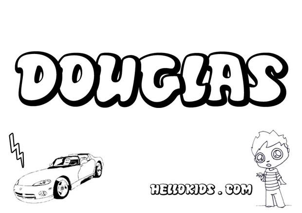 hubless douglas coloring pages - photo#31