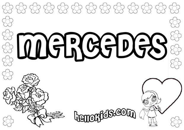 Mercedes coloring pages for Coloring pages mercedes