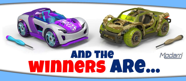 Win a Modarri Toy Car Reinvented