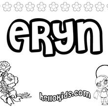 Eryn coloring page