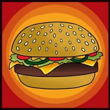 How to Draw a Hamburger how-to draw lesson
