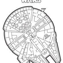 Millennium Falcon Maze