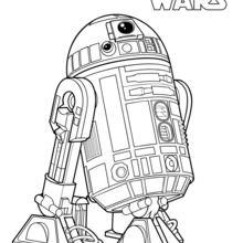 R2 D2 Coloring Pages Hellokids Com
