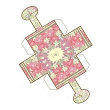 Easter Basket Paper Toy