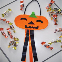 Trick or Treat Candy Bag homemade craft