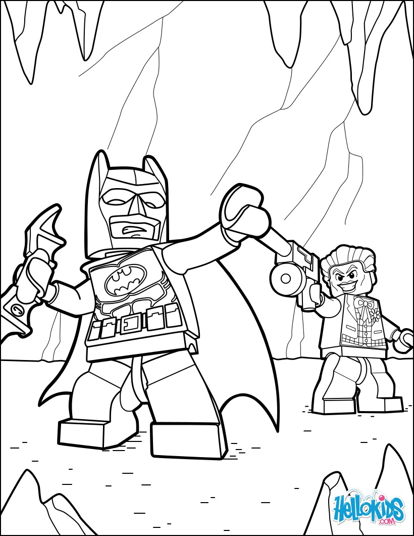 It is a graphic of Lively Coloring Pages Lego Batman