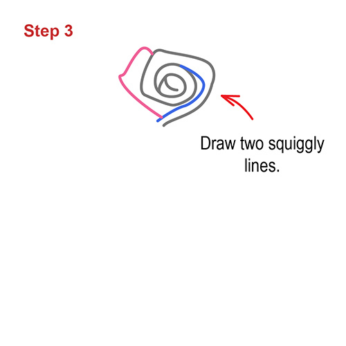 How to draw how to draw a rose step by step - Hellokids com