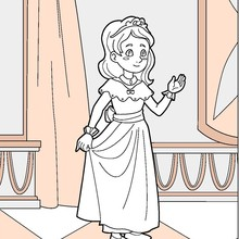 Disney Princess Coloring Pages Free Online Games Videos For Kids Kids Crafts And Activities Daily Kids News Reading Learning Drawing For Kids