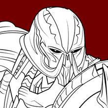 Transformers Megatron Coloring Pages Hellokids Com