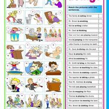 Actions School Lesson