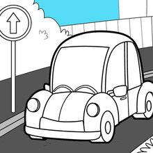 Transportation Coloring Pages Hellokids Com