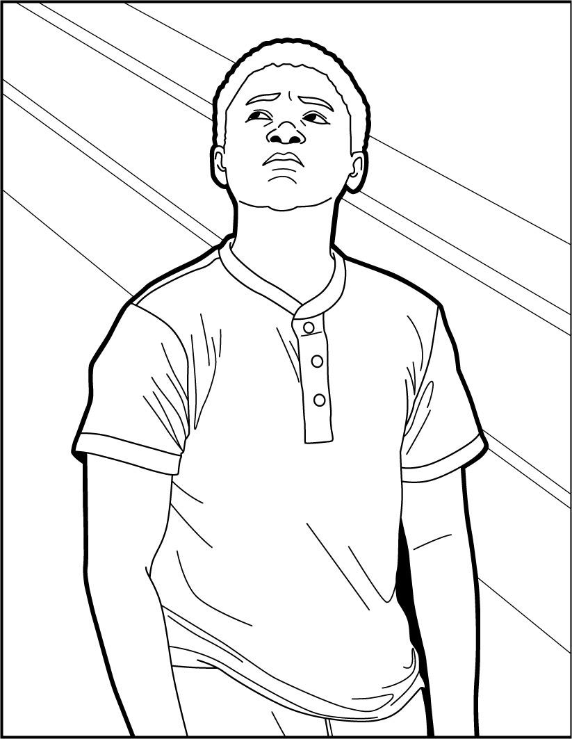 IT: Mike Hanlon coloring page