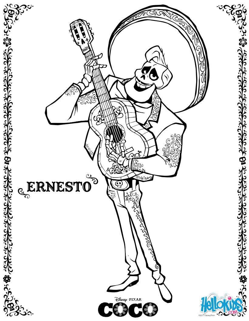 Ernesto coloring page