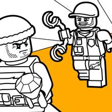 Lego Coloring Pages Hellokids Com