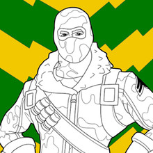 fortnite 1 coloring pages hellokids com