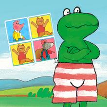 Frog Memo online game