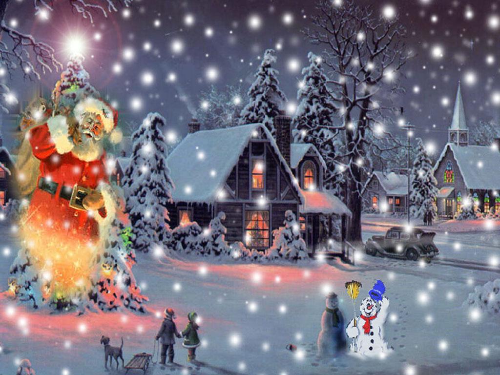 Animated Christmas Desktop Free
