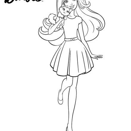 Gallery For gt Barbie Drawing Kids