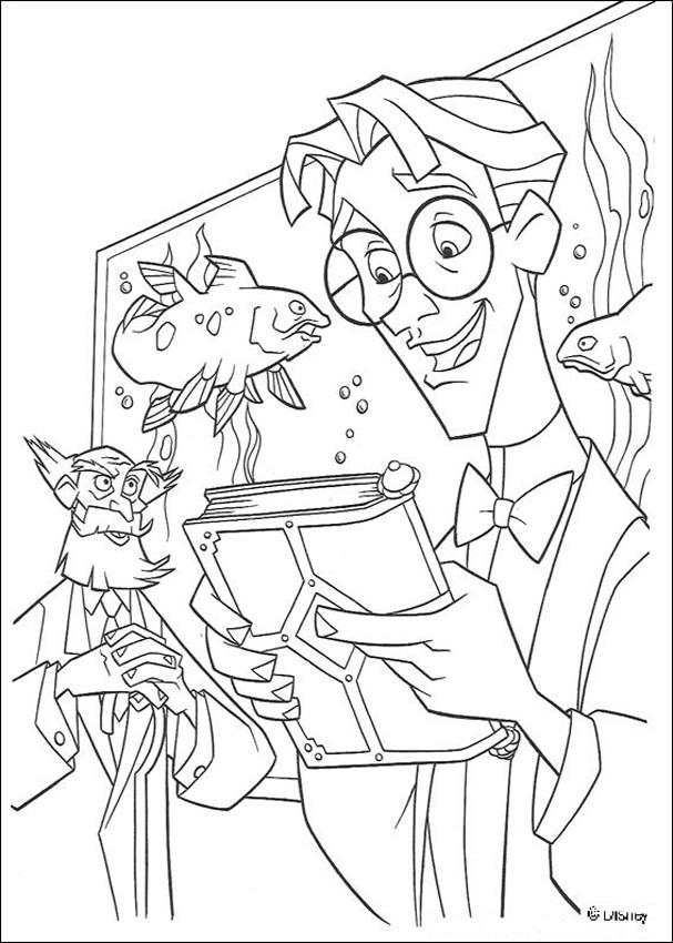 atlantis the lost empire coloring pages - atlantis 10 coloring pages