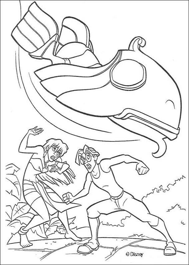 Atlantis 15 coloring page