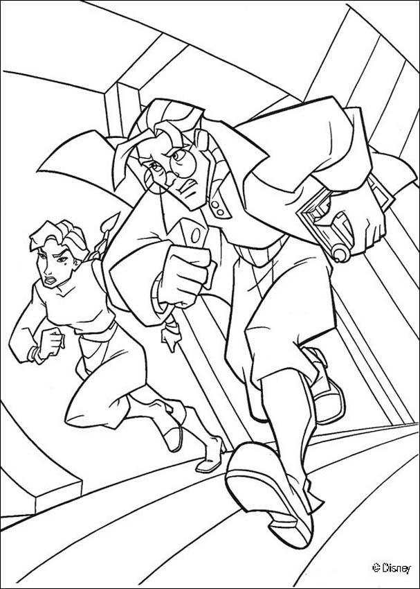 Atlantis 30 coloring page
