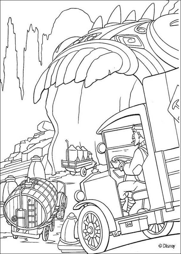 Atlantis 32 coloring page