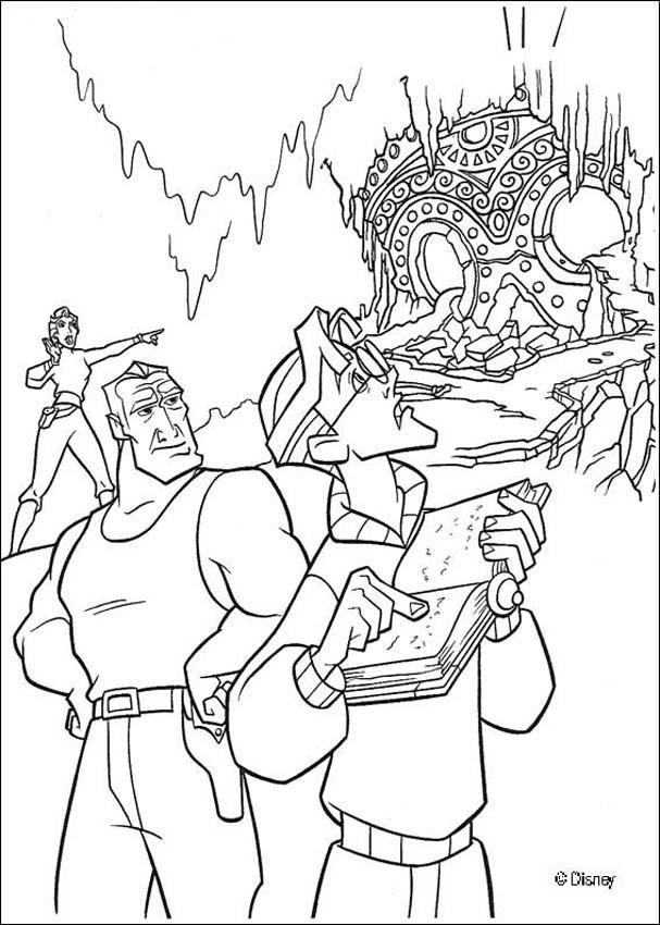 Atlantis 33 coloring page