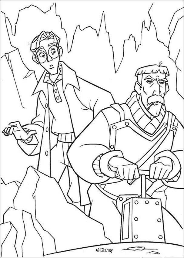 Atlantis 34 coloring page