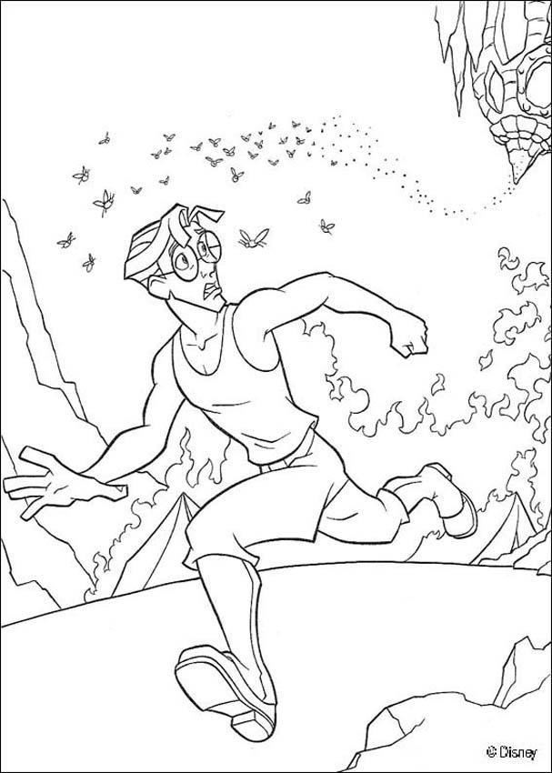 Atlantis 37 coloring page