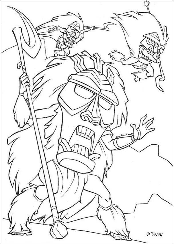 Atlantis 40 coloring page
