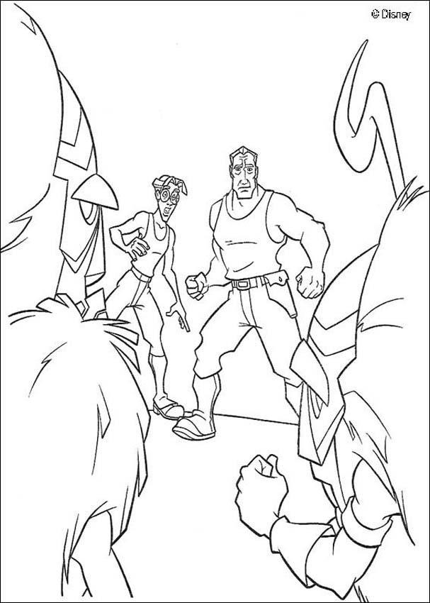 Atlantis 41 coloring page