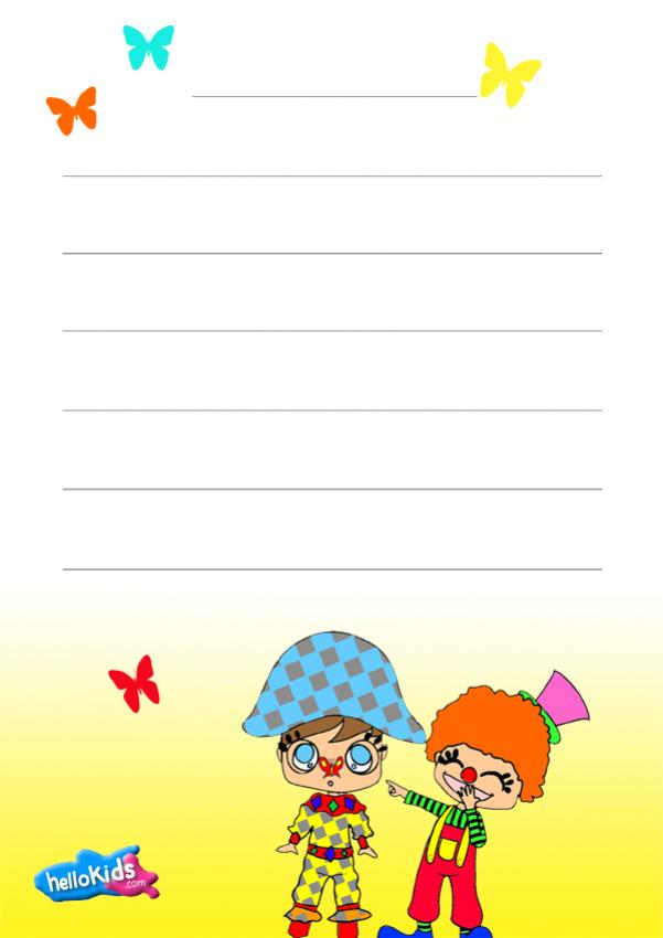 themed writing paper Fall lined writing paper beautiful fall themed paper for a beautiful season kids  can create masterpieces on this specially designed lined writing paper.