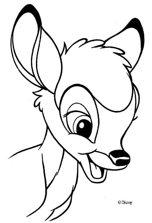 Bambi 86 coloring page
