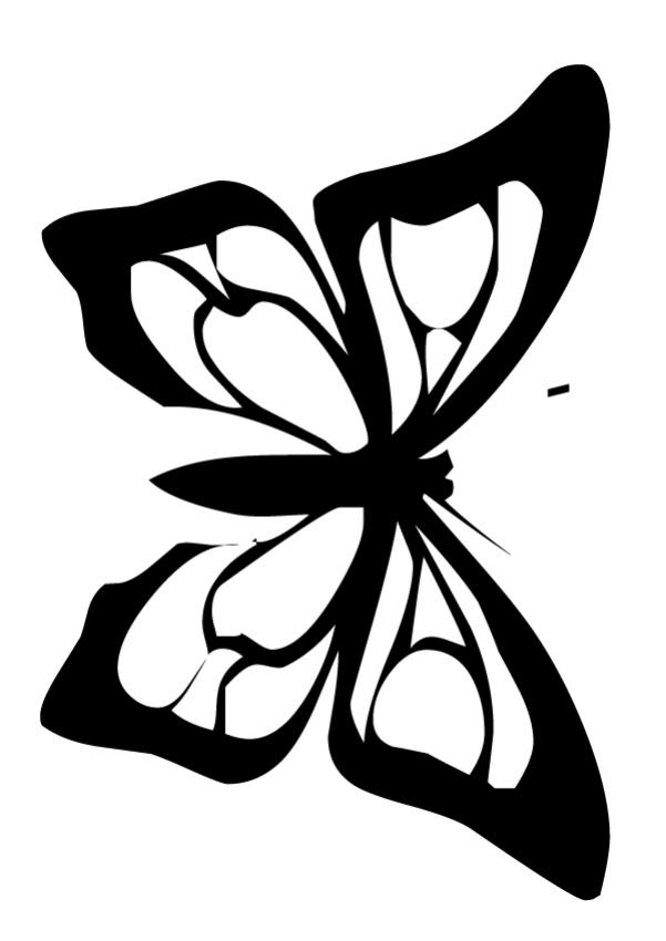 Anise Butterfly coloring page