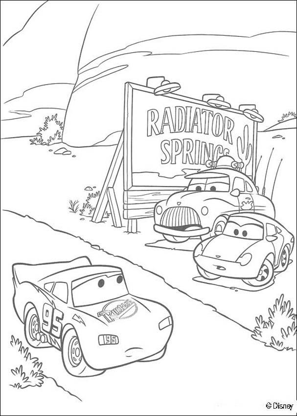 mcqueen cars coloring pages - photo#32