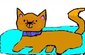 Cat - Draw - KIDS drawings - ANIMAL drawings - PETS drawings - CAT