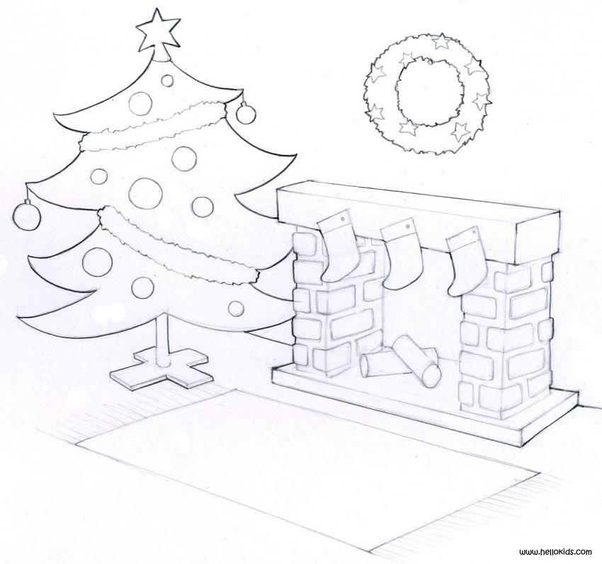 CHRISTMAS TREE coloring pages - 22 Xmas online coloring books and ...