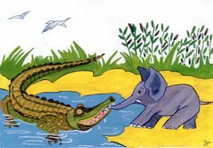 crocodile-et-elephant
