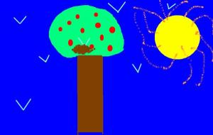 Your tree drawing